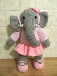 Ellie Ballerina knitting project by Lynda G on the Loveknitting Community!