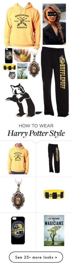 """""""Relaxing Night in the Hufflepuff House"""" by beatles5ever on Polyvore featuring Alkemie"""