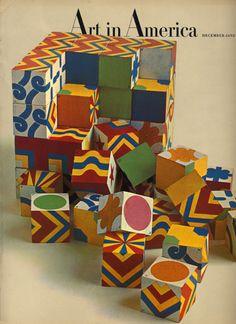 Milton Glaser, cover design for Art in America, 1965/66. Source