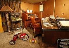Graceland Upstairs | Elvis' upstairs office is part of a new exhibit titled, 'Elvis Through His Daughter's Eyes'