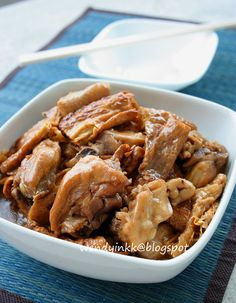 Table for 2.... or more: Sesame Oil Beancurd Stick Chicken - Confinement Month # 7