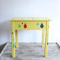 Stencilled Children's Desk