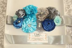 It's a Boy Maternity Sash READY TO SHIP by LMGCreativeDesigns, $50.00