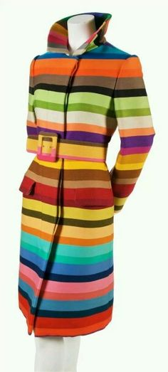 Donald Brooks 1960 Technicolor Coat