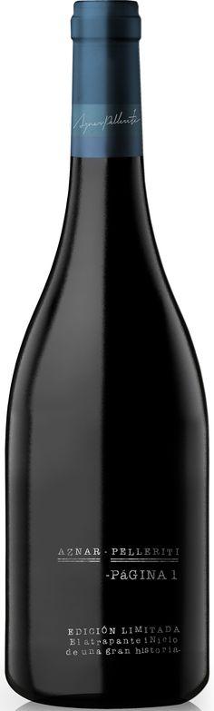 """Página 1""  Cabernet Franc 55% / Malbec 45% 2011 - Abremundos Wines, Mendoza-------------------Terroir: Tunuyán-----------------Crianza: 24 meses en barricas de Roble Francés"