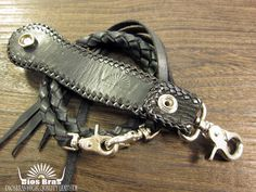 Rakuten: Four sharkskin belt loop & knitting wallet rope set / sharkskin wallet chain / key loop / original concho / sharkskin / shark / shark leather- Shopping Japanese products from Japan