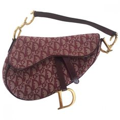 b951e91aa9a2 burgundy Abstract Cloth DIOR Handbag - Vestiaire Collective Dior Handbags
