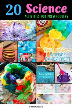 These 20 science activities for preschoolers are paired with other STEAM disciplines for some great hands-on learning opportunities! #STEMeducation #kidscience #summerscience #STEAM Summer Science, Science For Kids, Preschool Science Activities, Science Experiments, Hands On Learning, Creative Thinking, Pure Products, Science For Toddlers, Science Inquiry