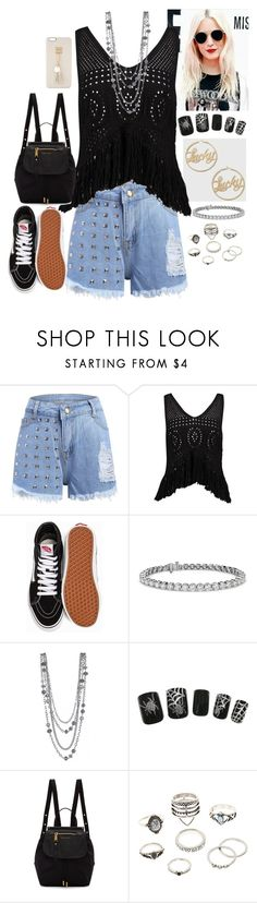 """""""Untitled #644"""" by fatyhnrqz94 ❤ liked on Polyvore featuring Boohoo, Vans, Blue Nile, Marc Jacobs, Charlotte Russe and Iphoria"""