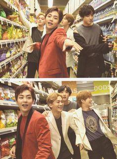your source for official, high-resolution photos of sm entertainment's boy group, exo! Baekhyun, Exo Bts, Kpop Exo, Park Chanyeol, Exo Chen, Chanbaek, Exo Nature Republic, Exo Group, Exo Lockscreen