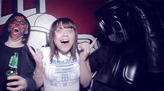 Balada de Fã de Star Wars é assim…