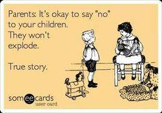 Kids need boundaries and discipline!