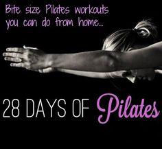 28 Days of Pilates | The Balanced Life