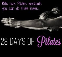 28 days of Pilates: Day 1 link. Rest on youtube? The Balanced Life