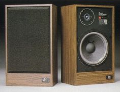 My first speakers Acoustic Research AR(Acoustic Research) AR-18 1981...not to be confused with the AR18s speakers that came out later. Nice speakers, but they only lasted until senior year of high school when I upgraded to a much larger pair of speakers whose name escapes me until I do a bit more research. My simultaneous aversion to and love of vinyl woodgrain and melamine probably owes a lot to these speakers and my Pioneer receiver.
