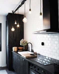 DIY Industrial Lamps and Chandeliers