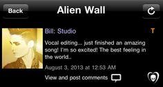 Editando Vocal ... acabei de terminar uma música incrível! Estou tão animado! A melhor sensação do mundo
