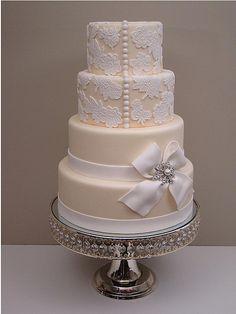 unique wedding cakes 4 by Austin Wedding Blog, via Flickr