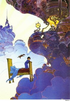Little Nemo by Moebius