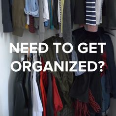 Closet Organization Hacks // #hacks #organization #home