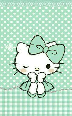 Hello Kitty Wallpaper For Android - Best Mobile Wallpaper Images Hello Kitty, Hello Kitty Fotos, Hello Kitty Imagenes, Hello Kitty Art, Hello Kitty Tattoos, Kitty Kitty, Sanrio Wallpaper, Kawaii Wallpaper, Cartoon Wallpaper