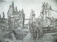 Hogwarts Castle by ~talita-rj on deviantART