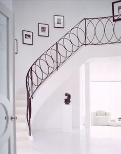 Banister and railings