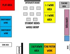 Special education classroom set up! Pictures and a floor plan on how I set up my classroom for students with intensive needs!
