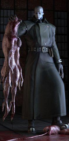 by on DeviantArt Resident Evil Tyrant, Resident Evil Monsters, Resident Evil Video Game, Games Zombie, Evil Games, Video Game Art, Video Games, Rainbow Six Siege Art, Evil World