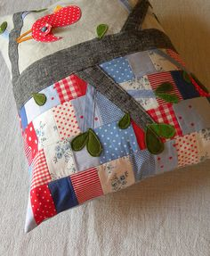 Applique meets patchwork ...lovely image