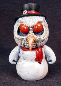 50$ - Nightmare Before Christmas Stylized Zombie Snowman by UndeadEd