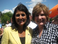 Who knows?  You may have a chance to meet Governor Nikki Haley one day -- and you may need to send her a basket!