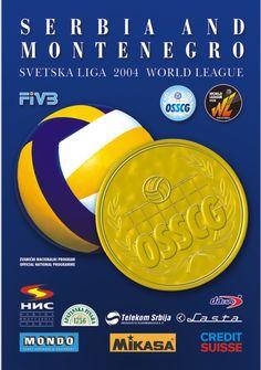 2004 World League Intercontinental Round poster.