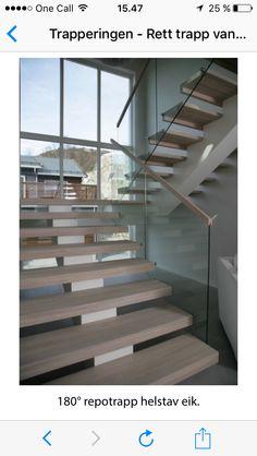 liker åpen trapp som er litt romslig. gjerne med vinduer så det er ekstra lyst. Stairway To Heaven, Stair Railing, Living Room Interior, Stairways, Loft, Home Decor, Tips, Ideas, Staircases