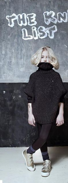The Knit List - Girls New Theme, Minimal Fashion, Normcore, Product Launch, Turtle Neck, Knitting, Sweaters, Kids, Dresses