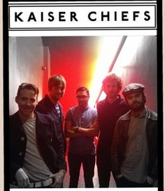 Kaiser Chiefs with VJ the new drummer