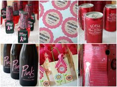 Post-treatment Breast Cancer Party favors- nice blog post