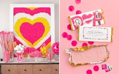 Dylan Lauren's candy-coated bridal shower via MSW. #bridal_shower #candy