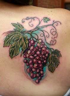 """If you love wine, and you love tattoos, don't let anyone call you a """"weirdo"""" or a """"wino."""" Show them you're a proud weirdo and wino with an awesome tattoo. Neue Tattoos, Body Art Tattoos, Small Tattoos, Sleeve Tattoos, Wine Tattoo, Book Tattoo, Tattoo Designs, Anchor Tattoo Design, Aquarell Tattoo"""