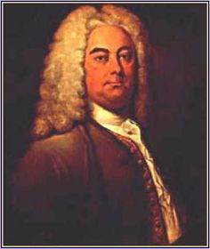 Georg Friederich Händel was born in 1685, a vintage year indeed for baroque composers, in Halle on the Saale river in Thuringia, Germany on February 23rd.    From Germany to England – via Italy.    Though his father had intended him for the law, Handel's own musical inclinations seem always to have been clear to him. At the age of 18, in 1703, he traveled to Hamburg, where he took a job as a violinist at the Hamburg Opera and gave private lessons to support himself.