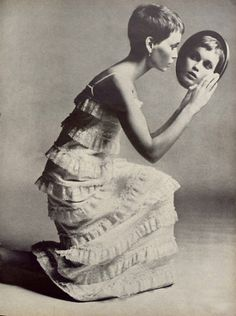 Richard Avedon// Mia Farrow//Vogue1966