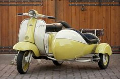 1958 Lambretta TV 175 - this is so perfect for me and a friend :)