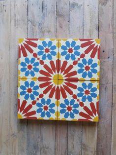 Zementfliesen im Marokkanischen Stil mit detailreichem Muster. Cement Tiles, Bespoke, Design, Moroccan Style, Patterns, Taylormade