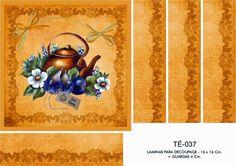ЛИСТЫ ДЛЯ DECOUPAGE DECOPAPER: Лезвия для чайных BOX 16x16 - 10x10 + GUARD (2)