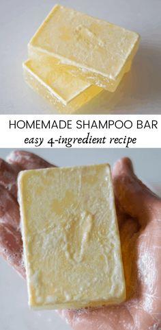 Diy Shampoo, Natural Hair Shampoo, Natural Haircare, Natural Shampoo Recipes, Hair Care Recipes, Diy Hair Care, Homemade Soap Recipes, Beauty Recipe, Home Made Soap