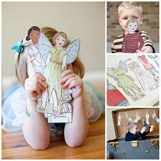 Huge Sale today and tomorrow $36 worth of paper dolls for $10
