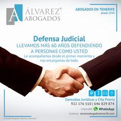 Defensa Judicial Tenerife. Más de 60 años defendiendo sus derechos. https://alvarezabogadostenerife.com/?p=5430