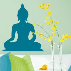 Decal Dzine Peaceful Buddha - Add oodles of style to your home with an exciting range of designer furniture, furnishings, decor items and kitchenware. We promise to deliver best quality products at best prices.