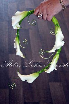 Floral art designed by Atelier Lukas Fleuriste.