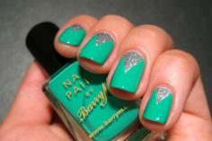 Nails+for+Spring+2014+Colors | Download Spring 2014 Nail Color Ideas – Green